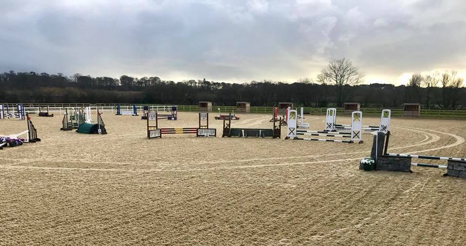 New Arena set up for Eventers Challenge